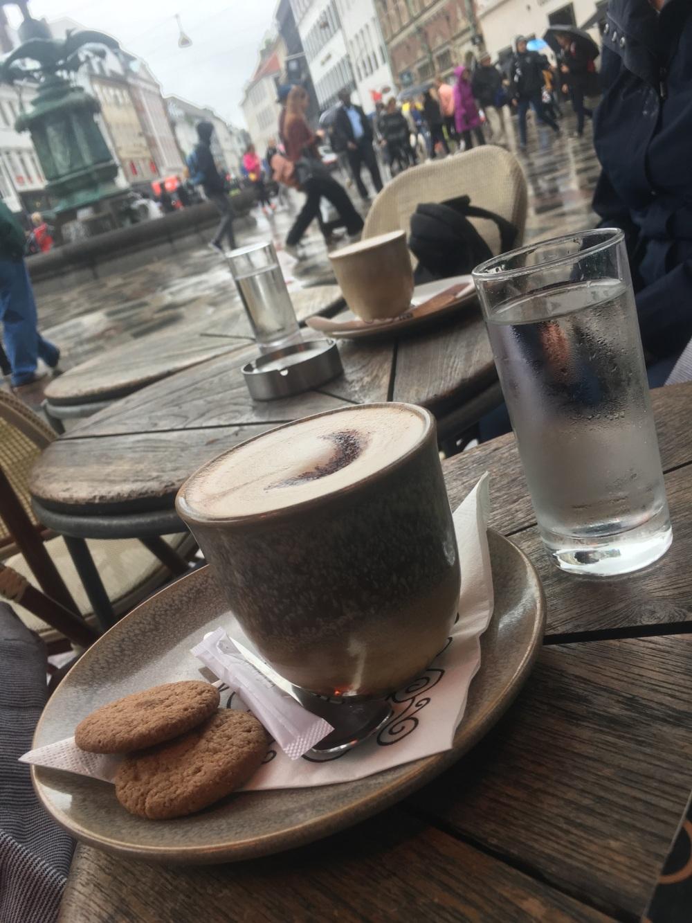 Kaffee im Café Norden