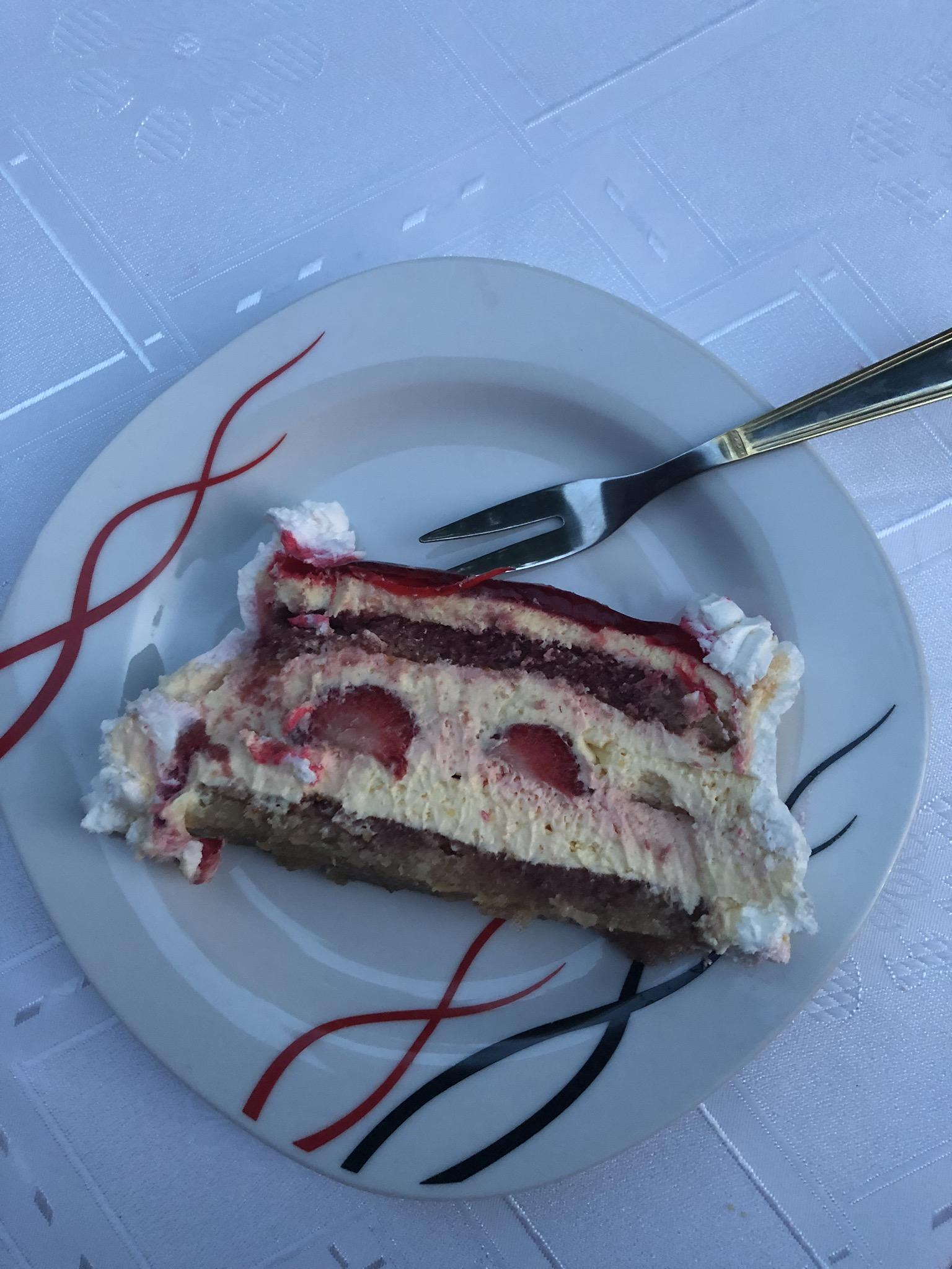 Dessert bei Apartman Vesna