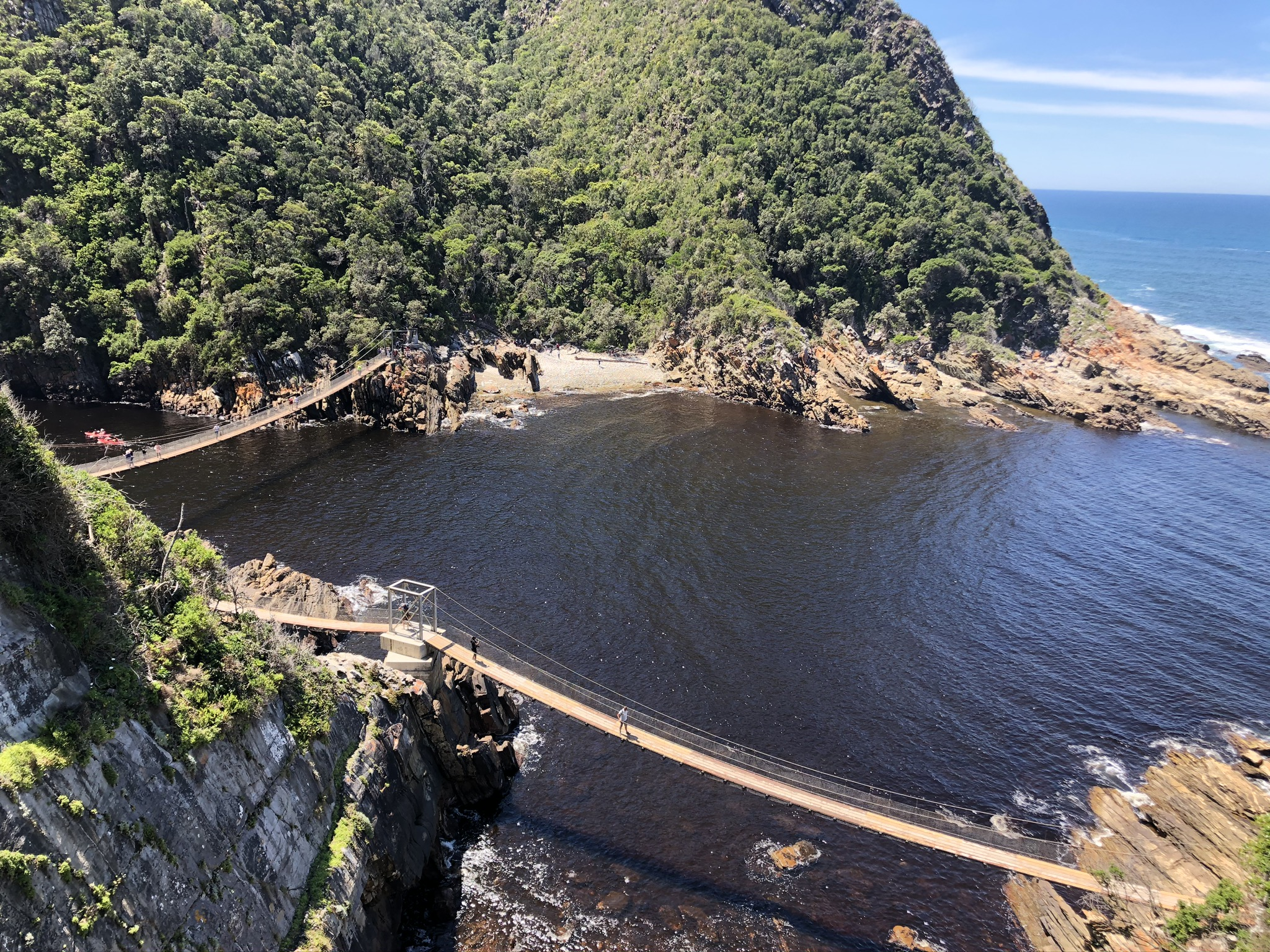 Unterwegs in Storms River Mouth
