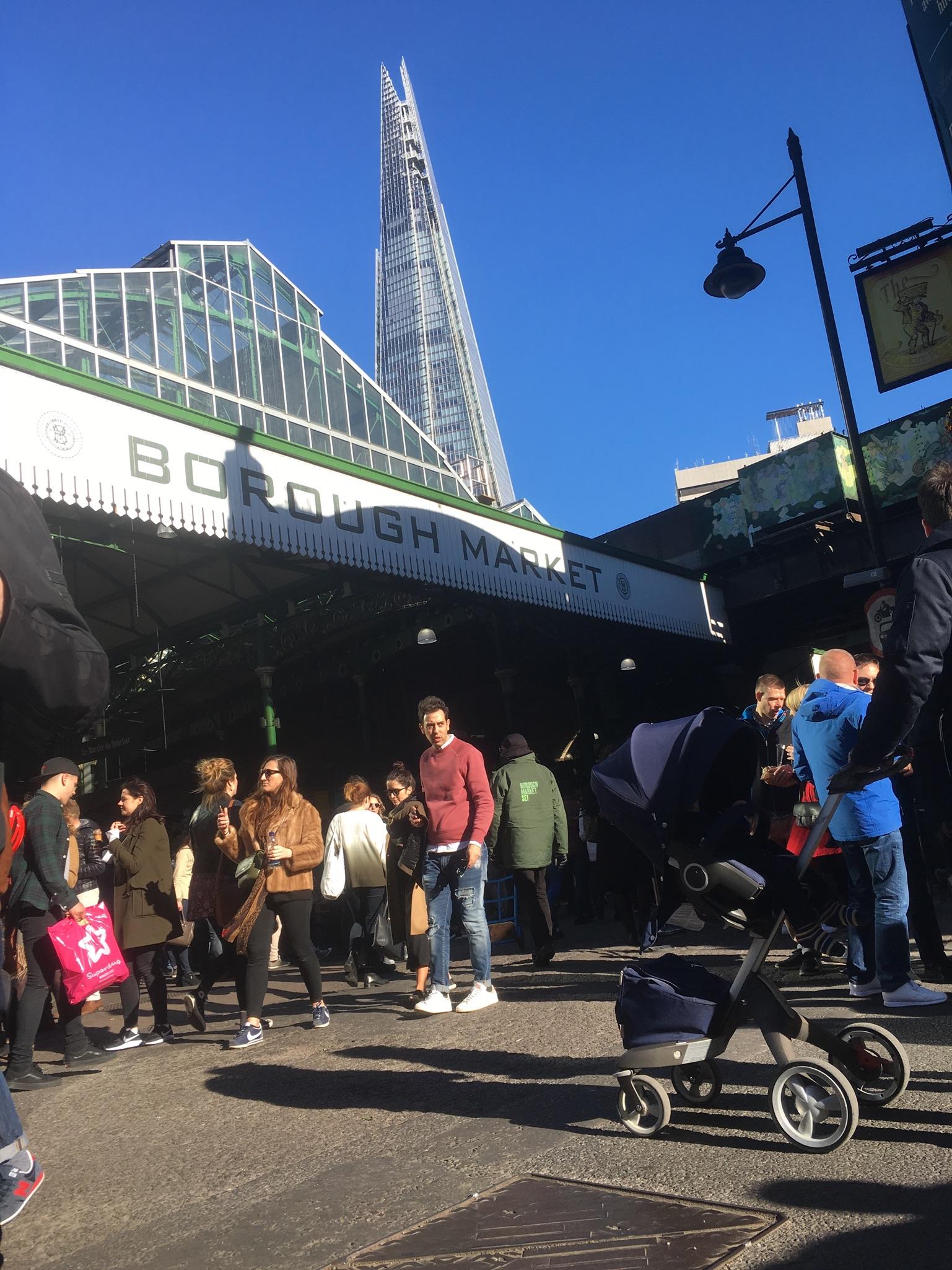Eindrücke vom Borough Market