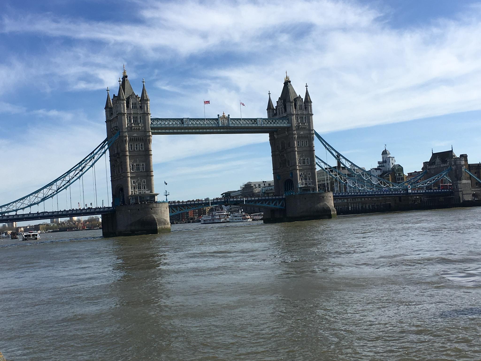 Spaziergang an der Themse