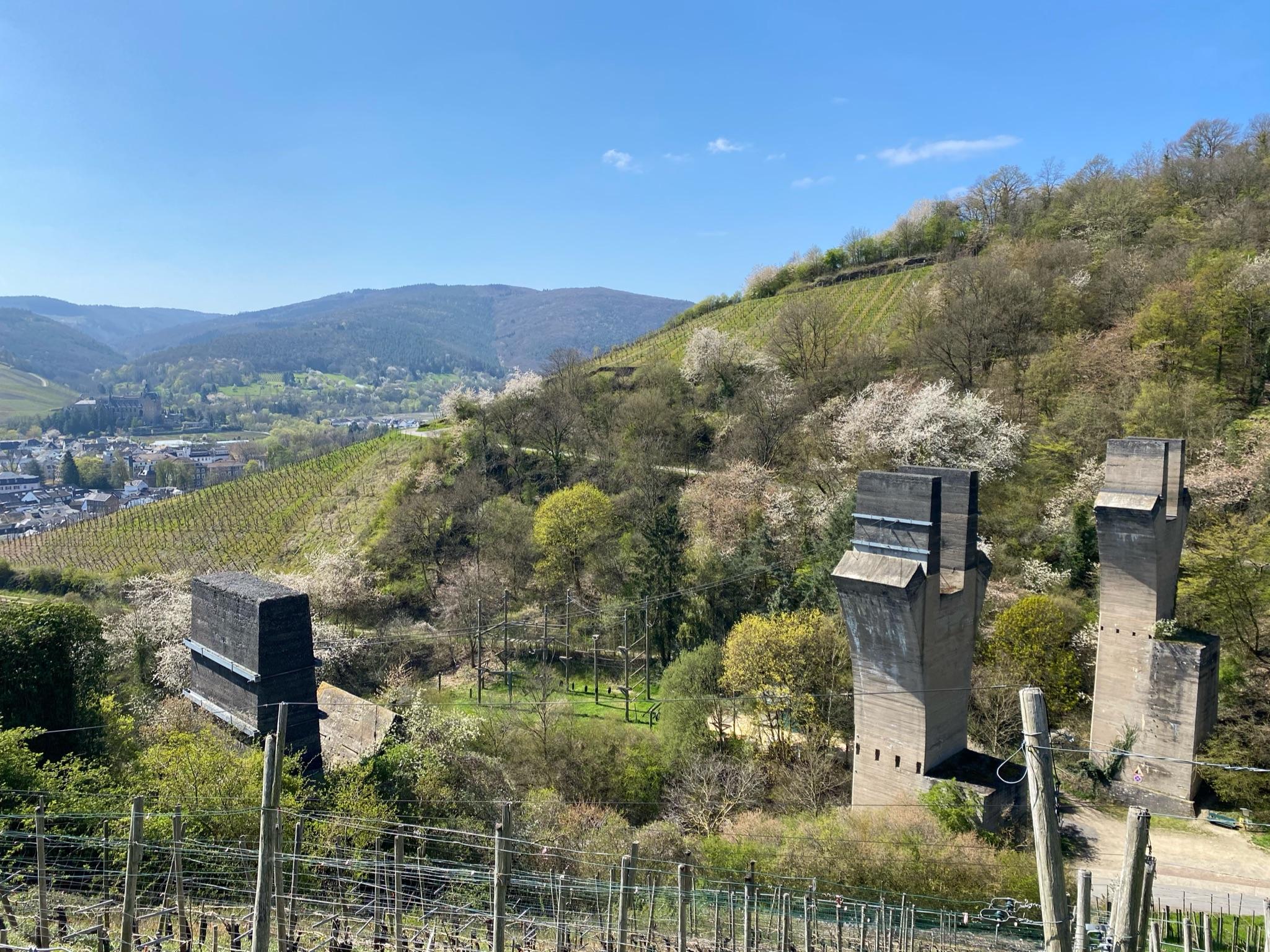 Adenbachviadukt wird heute als Hochseilgarten genutzt