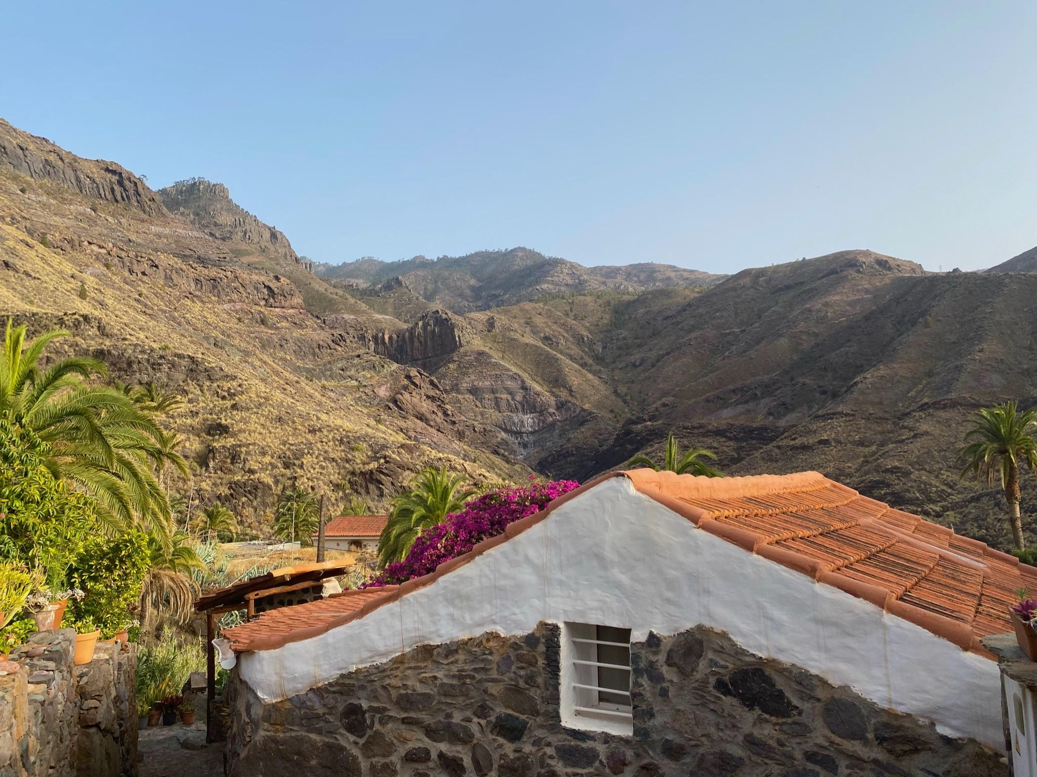 Ausblick der Casa Tamadaba
