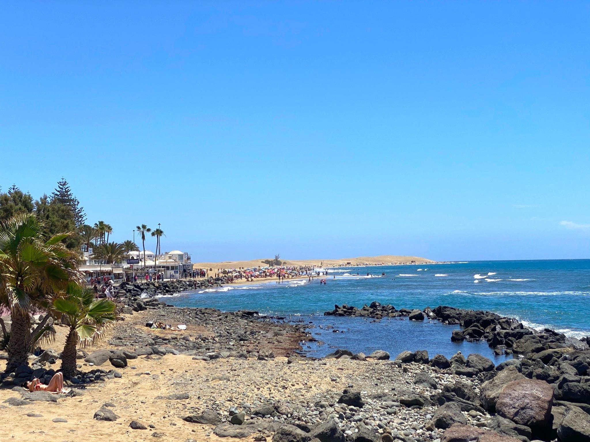 Playa del Ingles in Maspalomas
