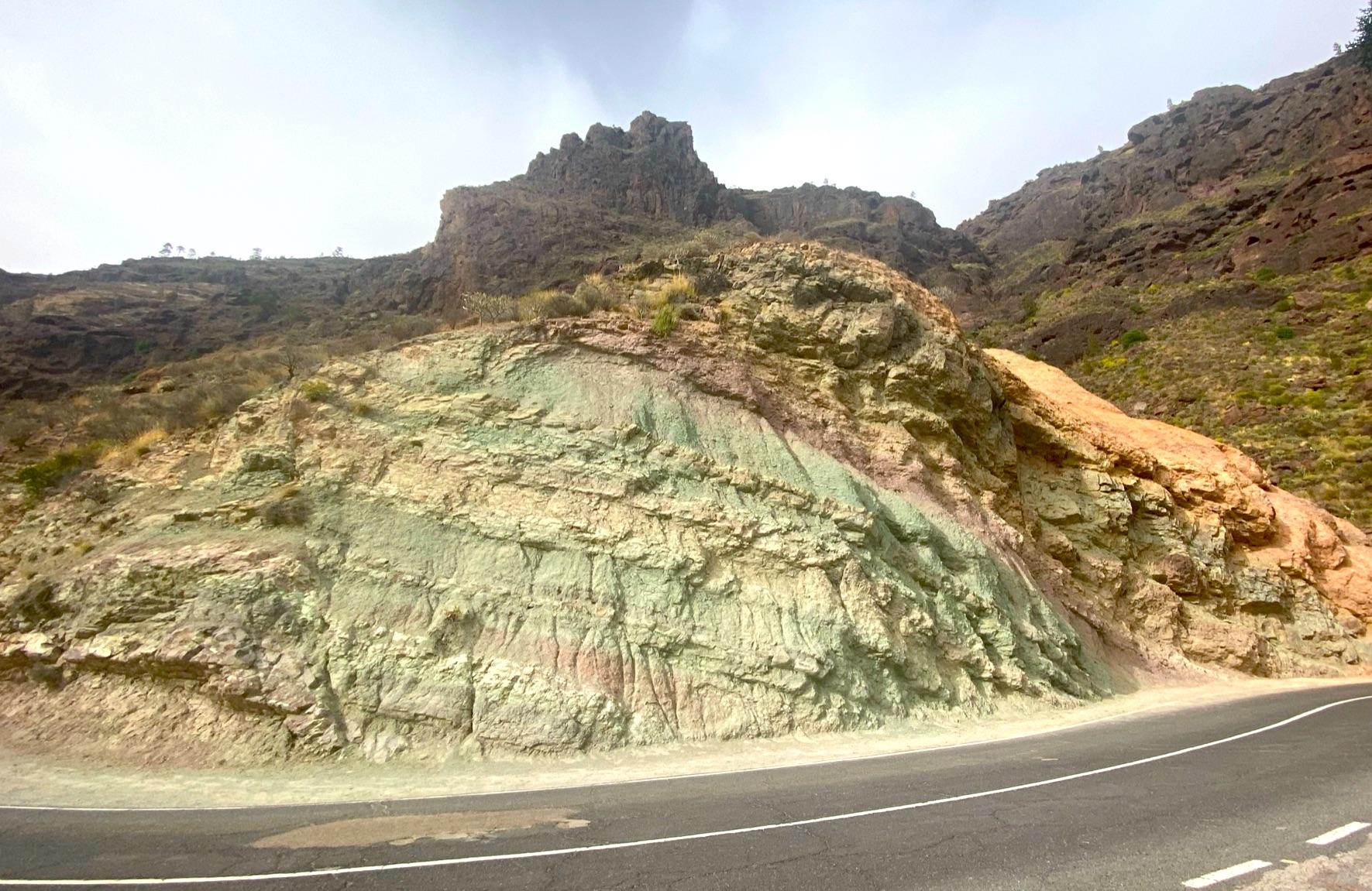 Tolles Farbenspiel auf Gran Canaria