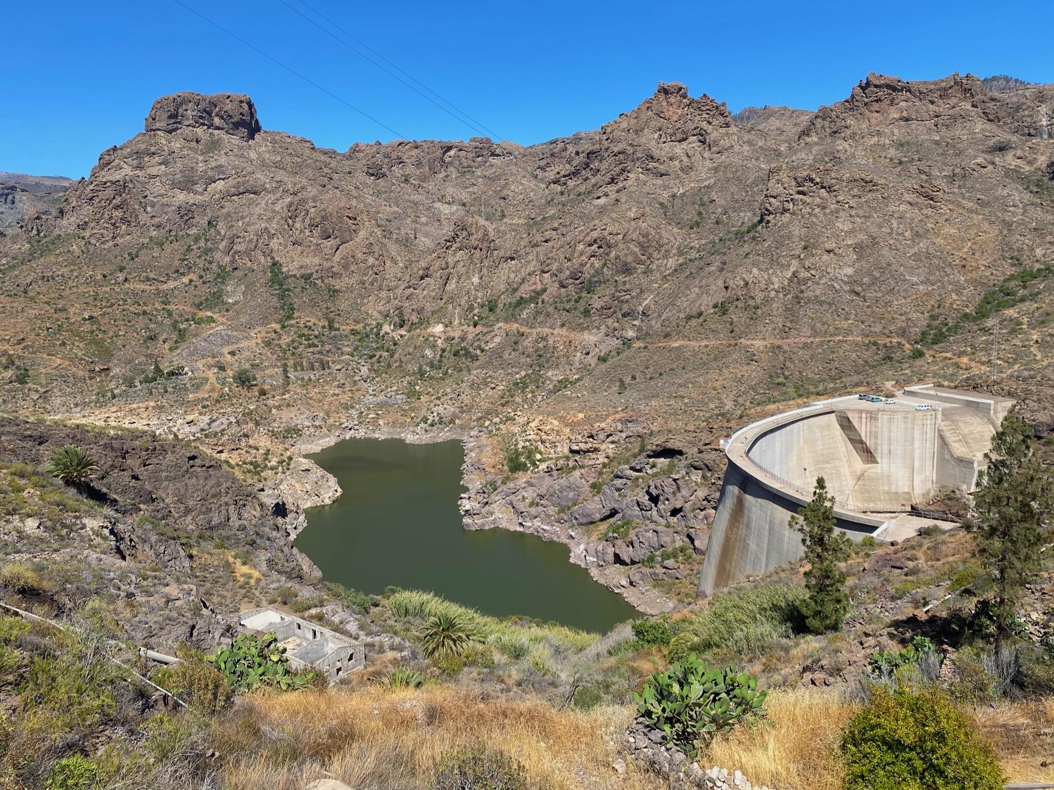 Stausee Prese de Soria, Gran Canaria