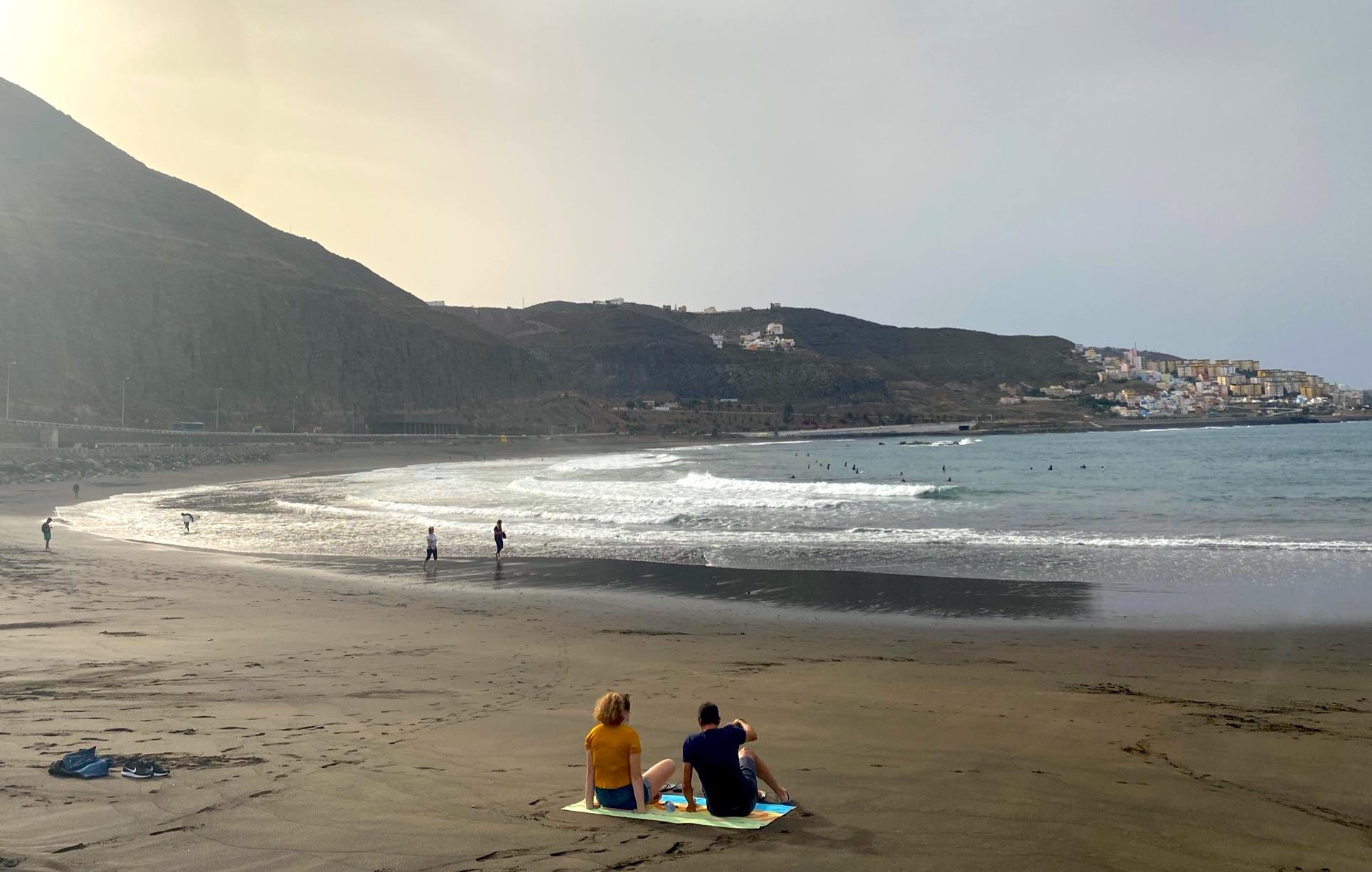 Strand Playa de la Laja nahe Las Palmas