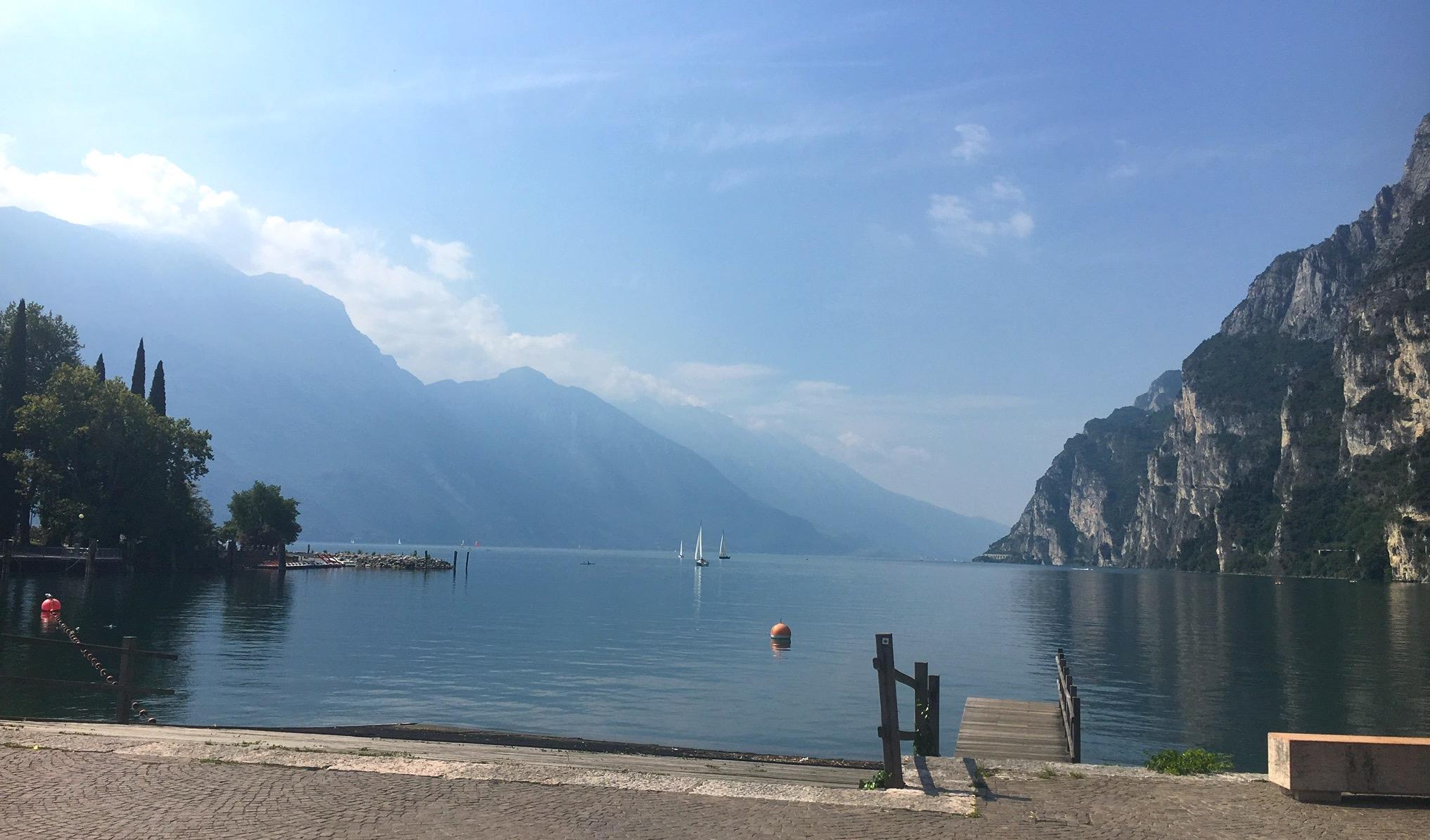 Promenade in Riva
