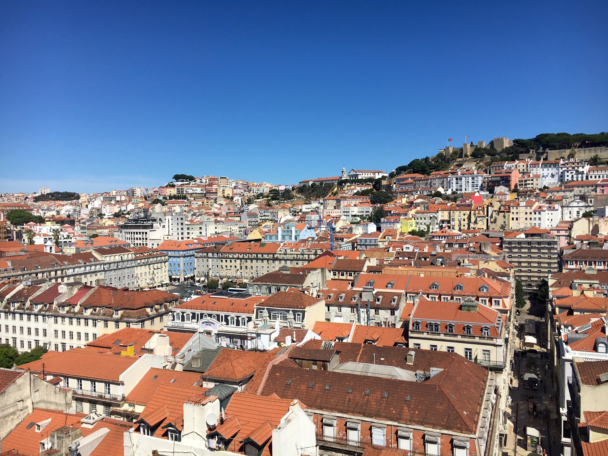 Ausblick über Lissabon