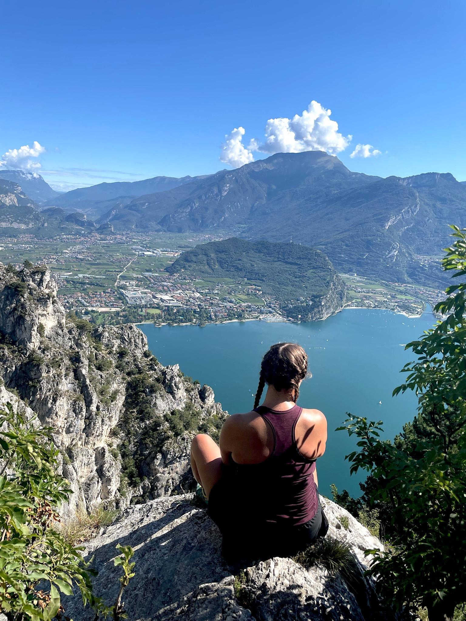 Grandioser Ausblick auf den Gardasee