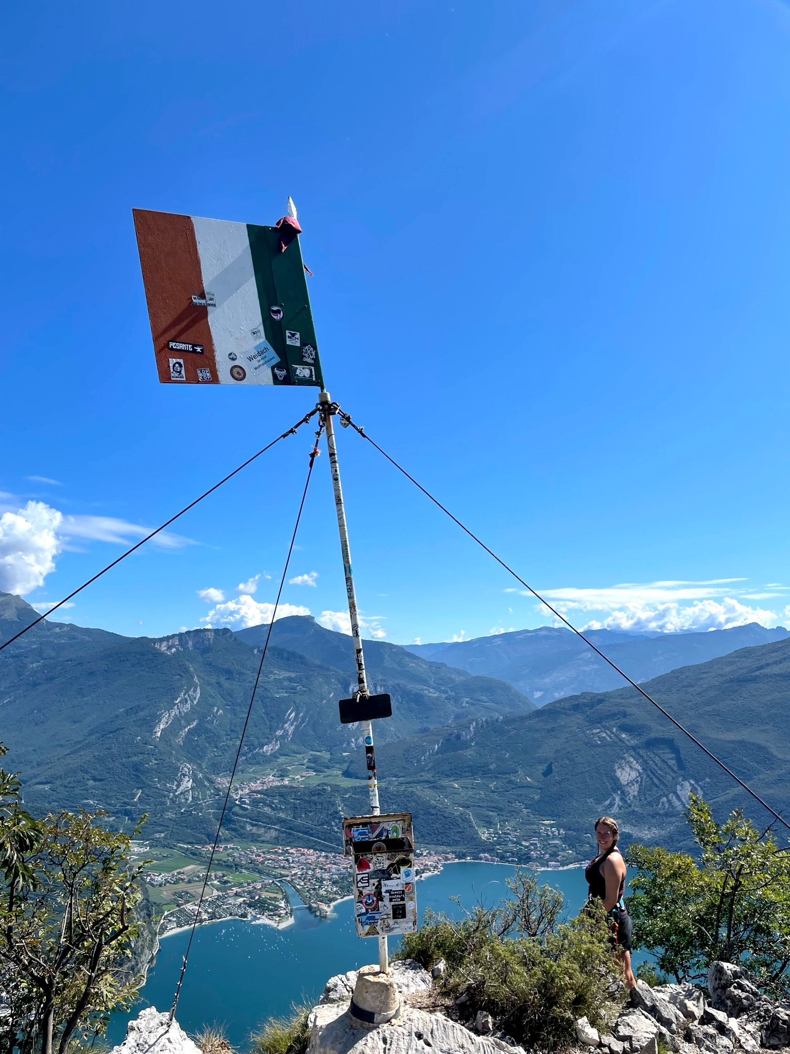 Der Gipfel des Cima Capi