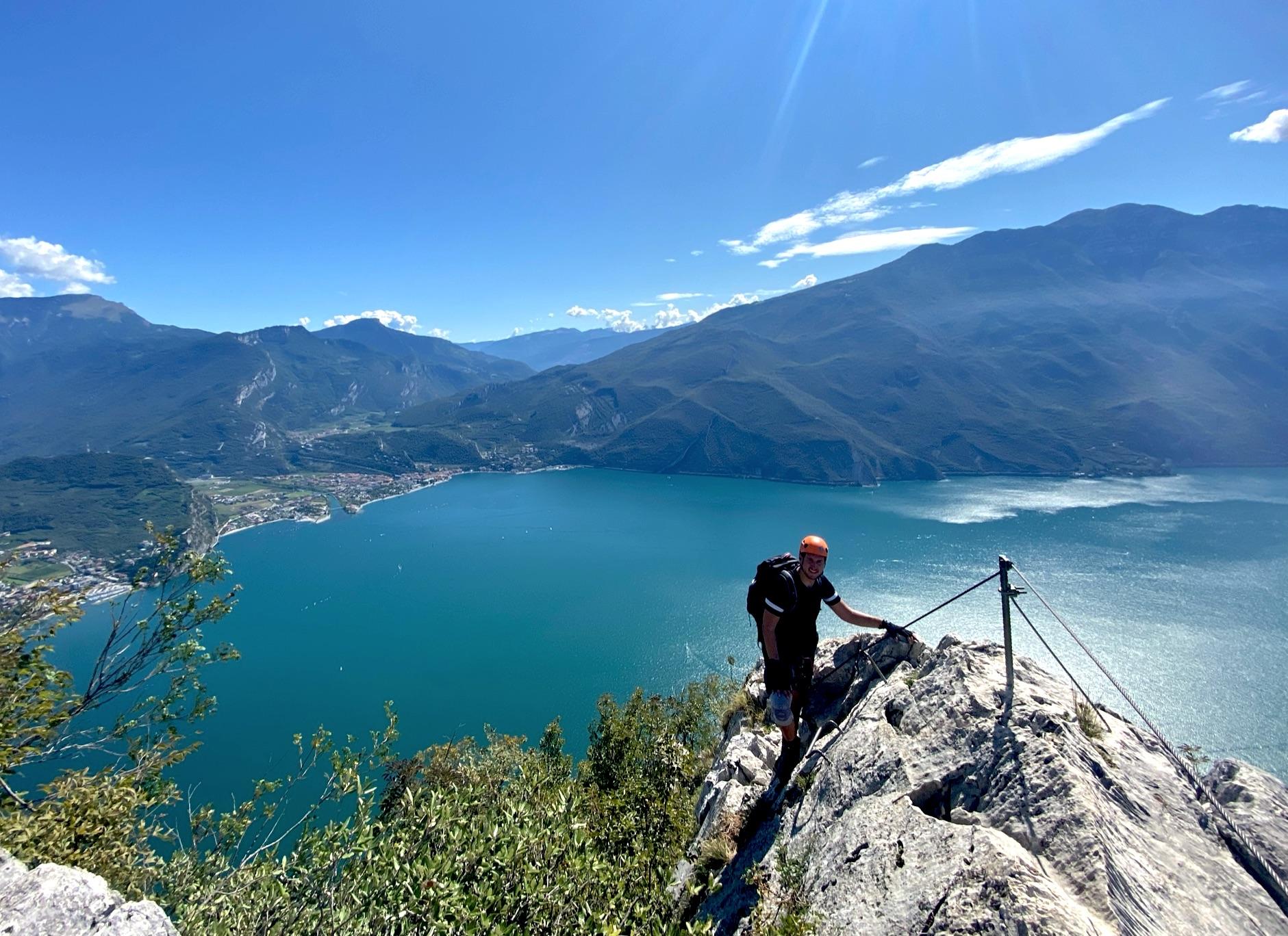 Klettersteig Fausto Susatti