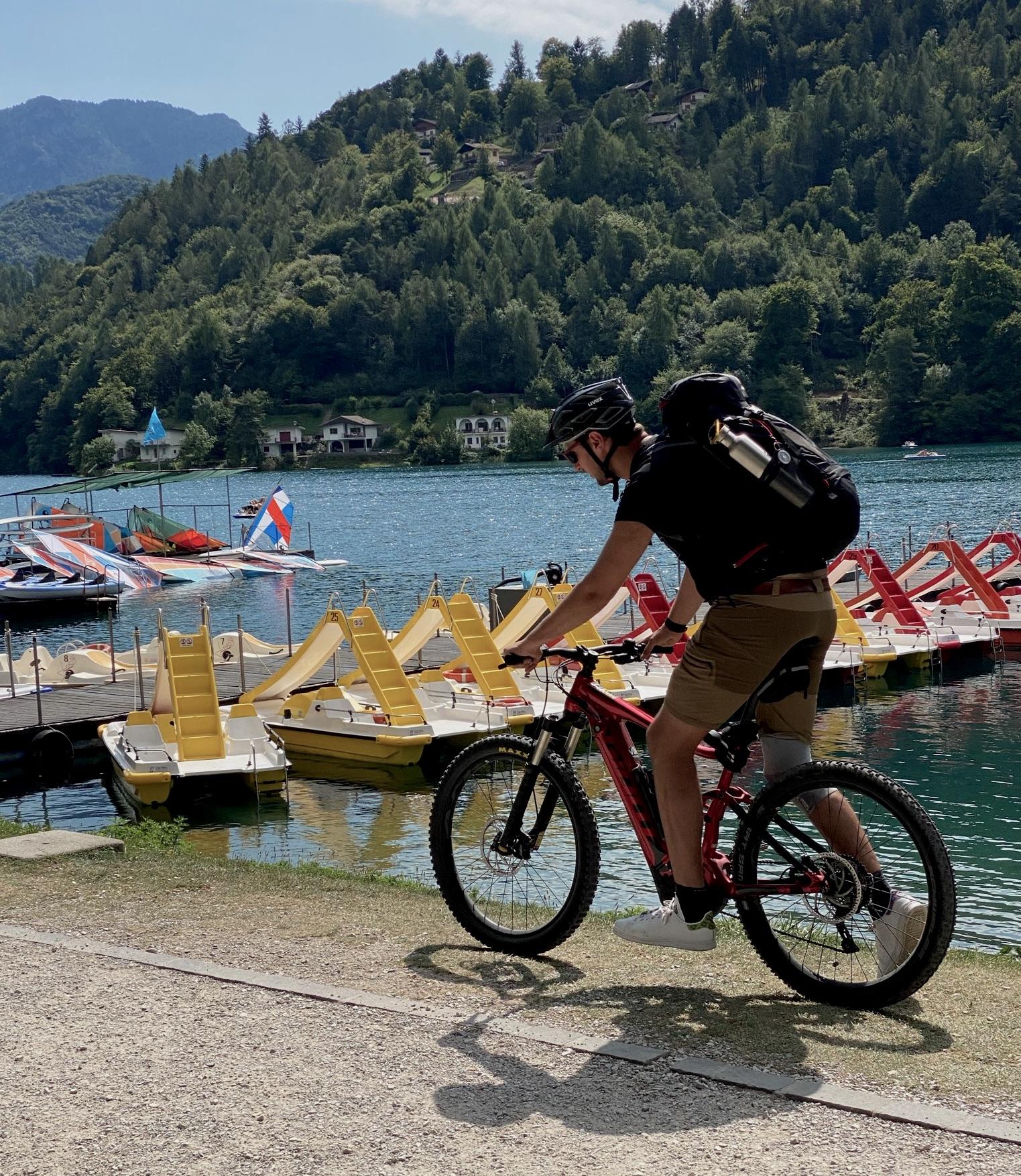 Mountainbiken zum Ledrosee